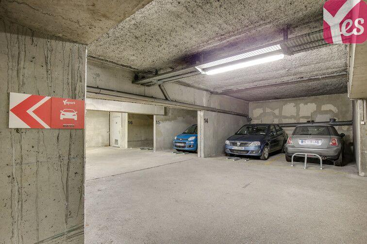 Parking Pernety - Paris 14 caméra