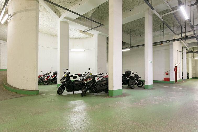 Parking Porte d'Orléans - Jean Moulin - Paris 14 caméra