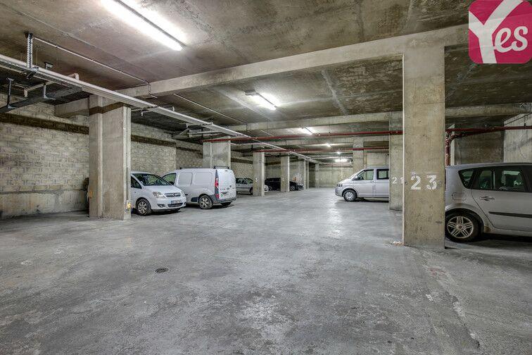 Parking Canal Saint-Martin - Jemmapes - Paris 10 caméra