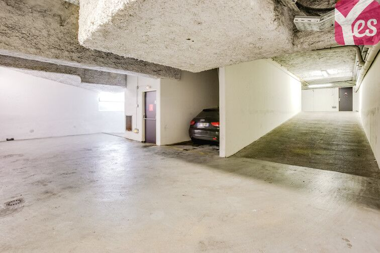 Parking Stalingrad - Louis Blanc - Paris 10 souterrain