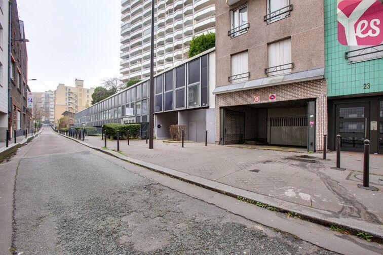 Parking Porte de la Chapelle - Charles Hermite - Evangile - Paris 18 souterrain