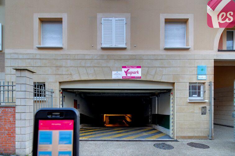 Ouvrez la porte du parking avec votre smartphone et l'application Yespark.